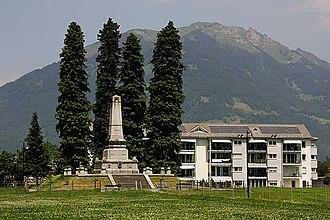 Näfels - Image: Naefels Schlachtdenkmal