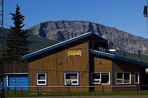 Nahanni Butte - The Band Office in Nahanni Butte