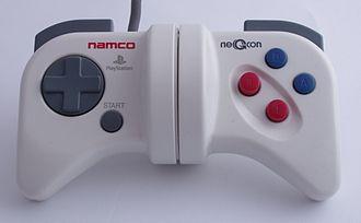 NeGcon - Image: Namco Negcon centred