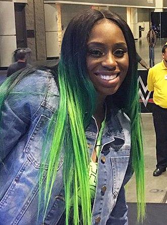Naomi (wrestler) - Naomi in 2017