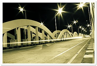 Napier Bridge - Image: Napiers bridge, Chennai