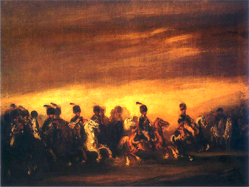 Napoleonic parade