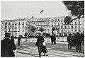Napoli, Piazza Vittoria con dirigibile.jpg