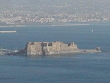 L'isolotto di Megaride, nei pressi del porto