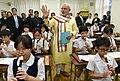 Narendra Modi at Taimei Elementary School in Tokyo.jpg