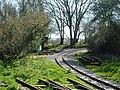 Narrow gauge railway near Norden station (geograph 5397468).jpg