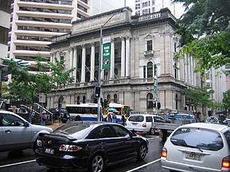 National Australia Bank - National Australia Bank Building in Brisbane
