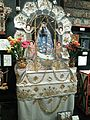 National Museum of Ethnology, Osaka - Holy Mother and sacred palanquin - Huancayo in Perú - Collected in 1994.jpg