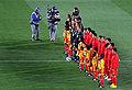 National anthems at Brazil and North Korea match at FIFA World Cup 2010-06-15.jpg