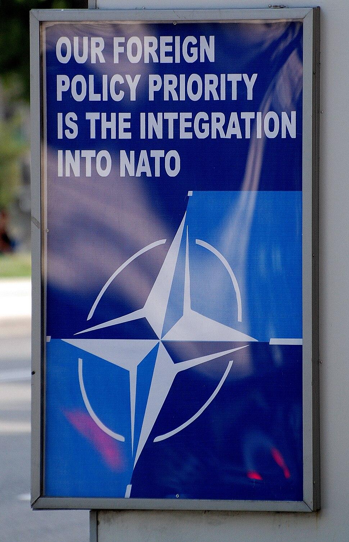 Nato poster tbilisi
