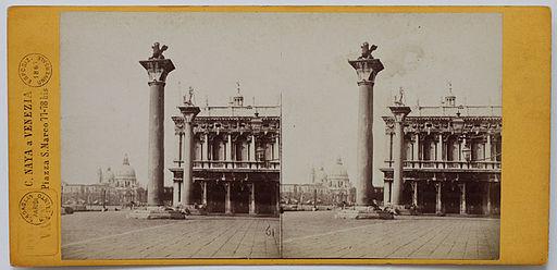Naya, Carlo (1816-1882) - n. 061 (Venezia, Piazzetta San Marco)