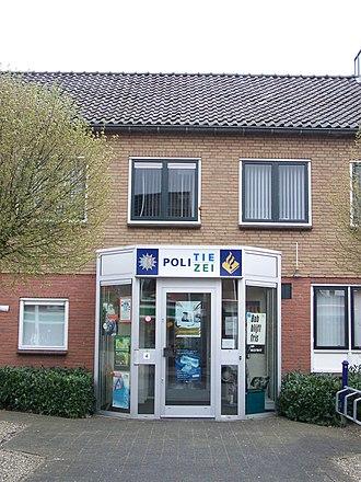 Suderwick - Image: Nederlands Duits politiebureau