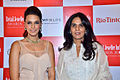 Neha Dhupia, Anita Dongre at '8th Annual Gemfields RioTinto Retail Jeweller India Awards 2012' meet 05.jpg