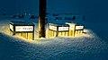 Neige sur les cabines télé phoniques, Percé, Québec, Canada.jpg