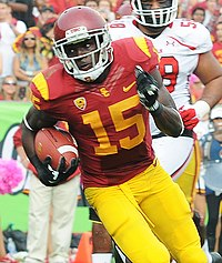 da28973973c Agholor playing for USC against the Utah Utes in 2013