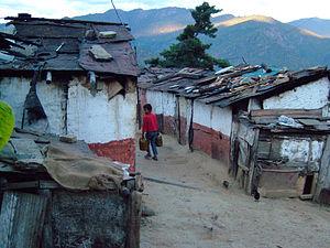 Residential area - Suburban slum in Bhutan