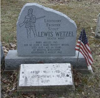 Lewis Wetzel American pioneer