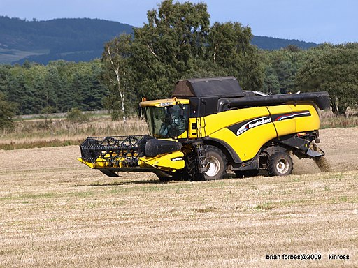 New Holland Harvester