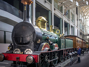 Locomotive No. 1 - Powerhouse Museum static display