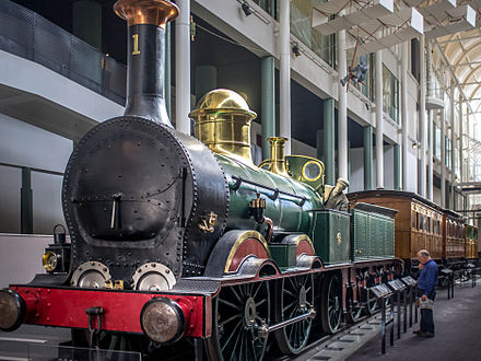 Locomotive No. 1 at the Powerhouse Museum New South Wales Government Locomotive No. 1.jpg