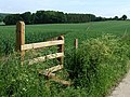 New Stile and Footpath, Shropshire - geograph.org.uk - 456310.jpg