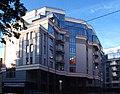 New blue building (10-line , Vasilievsky Island, Saint-Petersburg, Russia) - panoramio.jpg