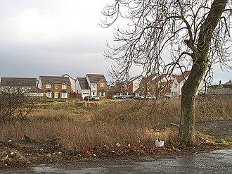 Bargeddie - Image: New housing, Bargeddie geograph.org.uk 1125069