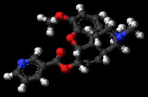 Nicocodeine - Image: Nicocodeine molecule ball