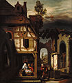 Nicolaes Maes (Dutch - Adoration of the Shepherds - Google Art Project.jpg