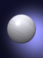 Nicolas P. Rougier's rendering of a small stone sphere.png