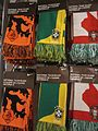 Nike Holland, Brazil & Portugal national soccer team scarves.JPG