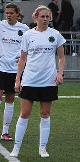 Nikki Marshall National Womens Soccer League defender and former US national team member