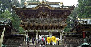 Nikkō Tōshō-gū Shinto shrines in Tochigi Prefecture, Japan