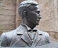 Nikola Tesla bust at St. Sava closeup.jpg