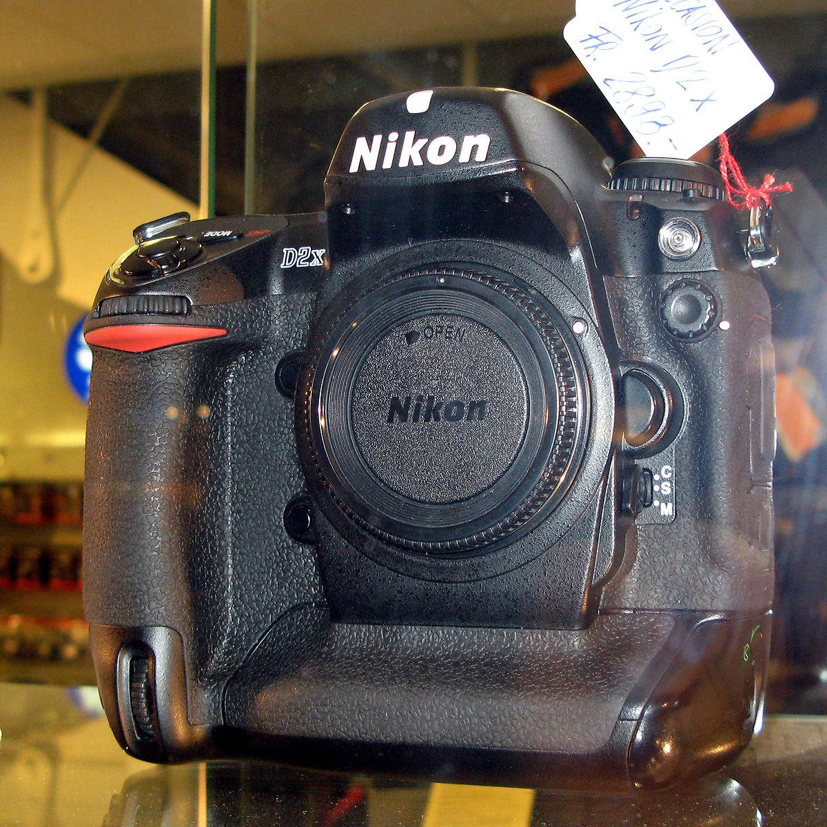 Nikon D2X - Wikipedia, la enciclopedia libre