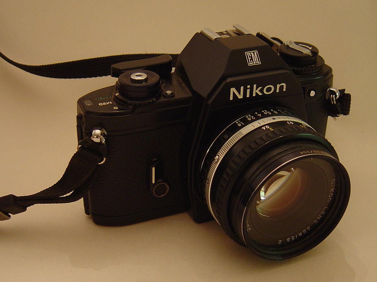 nikon em wikipedia rh en wikipedia org Nikon EM Battery Nikon EM vs Pentax Me