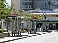 Nishi-Suzurandai Station Bus stops.jpg