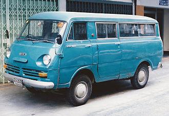 Nissan Caravan - First generation Nissan Prince Homy (Thailand), sold as Nissan Homer