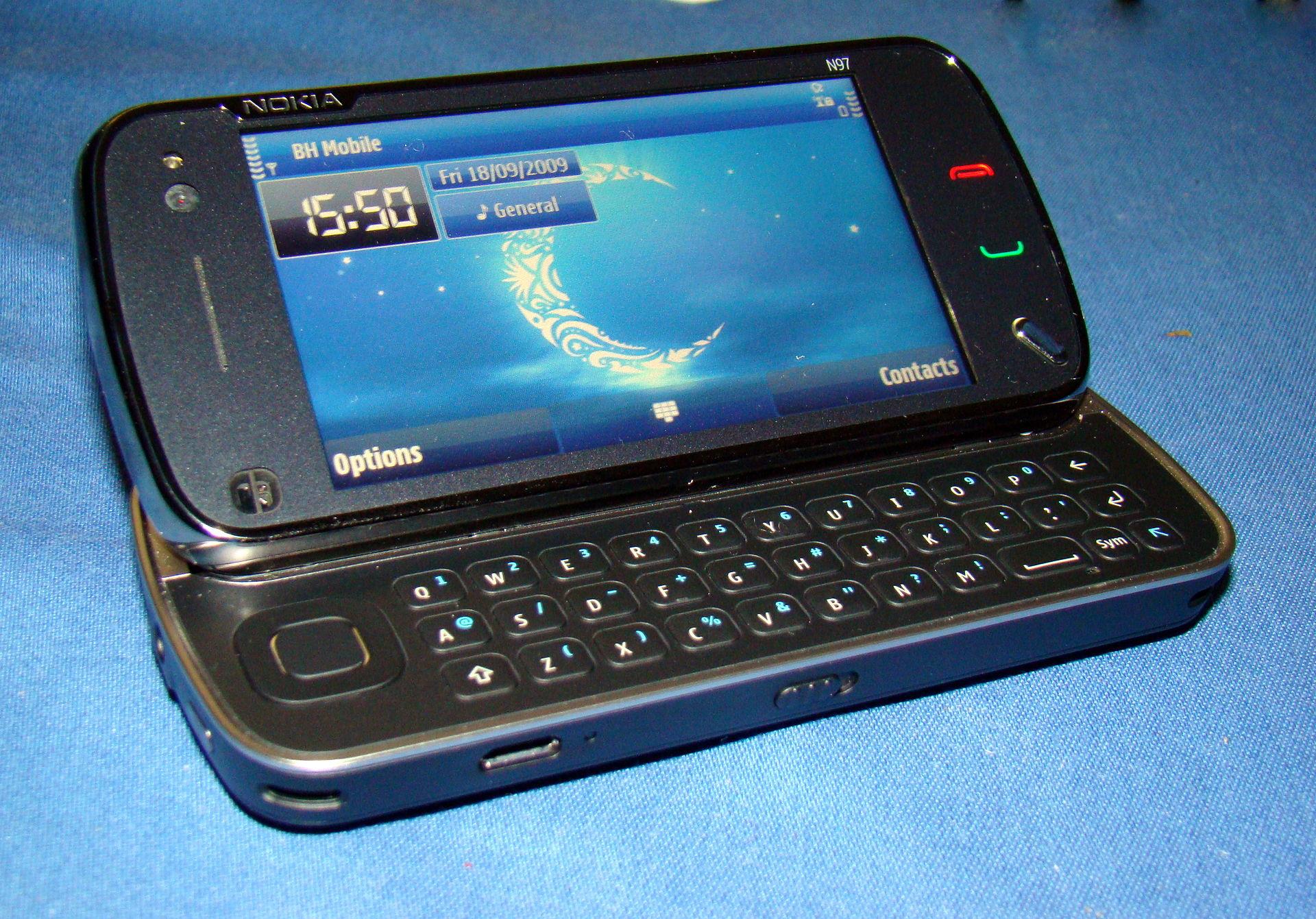 Nokia n97 wikipedia for Mobil wikipedia