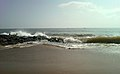 Noon time view at Bheemunipatnam beach 04.jpg