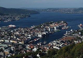 Neighbourhood in Midhordland, Hordaland, Norway