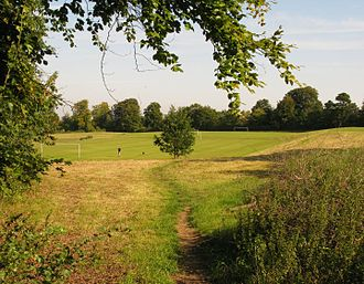 Nork, Surrey - Playing fields in Nork Park