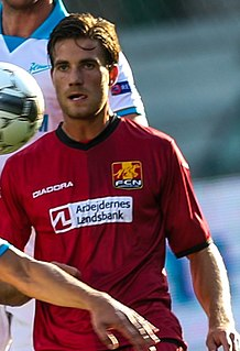 Martin Vingaard Danish footballer
