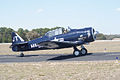 North American SNJ-4 Texan VMF-231 Taxi Out TICO 13March2010 (14576472616).jpg