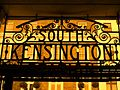 North Entrance Sign at South Kensington Station - geograph.org.uk - 1569493.jpg