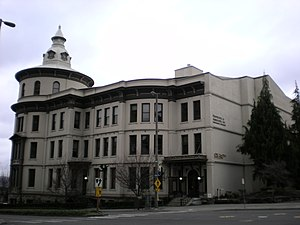 Northern Pacific Railway - The former Northern Pacific Office Building in Tacoma, Washington.