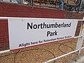 Northumberland Park stn signage1 2019.jpg