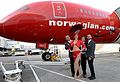 Norwegian Air Shuttle celebrates launch of Gatwick–Las Vegas flight 2.jpg