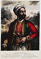 Notis (Constantine) Botsaris Chief Captain of the Souliotes - Friedel Adam De - 1830.jpg
