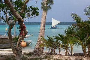 Baie de Saint-Joseph à l'Île des Pins